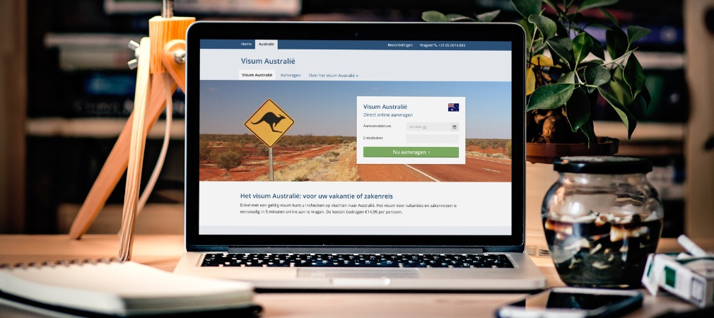Aanvraagprocedure voor het eVisitor visum Australië