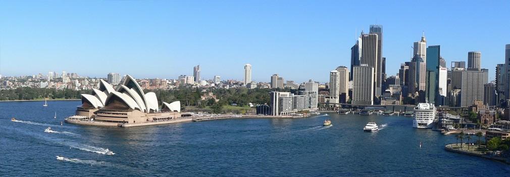 De Sydney Opera House, het bekendste gebouw van Australië