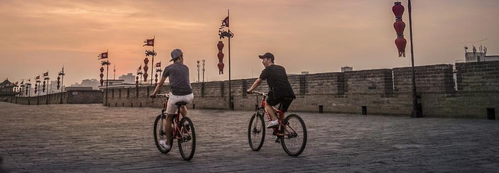 China verkennen op de fiets