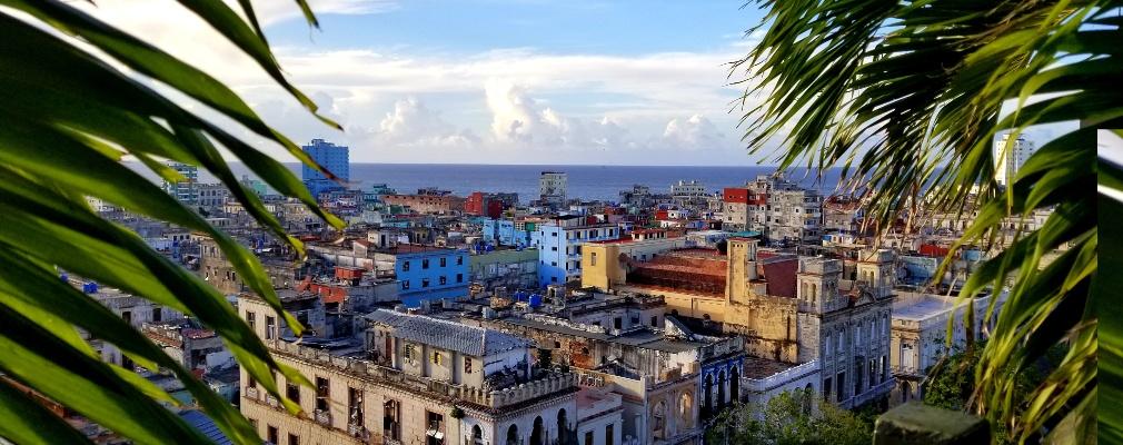 Uitzicht op Havana