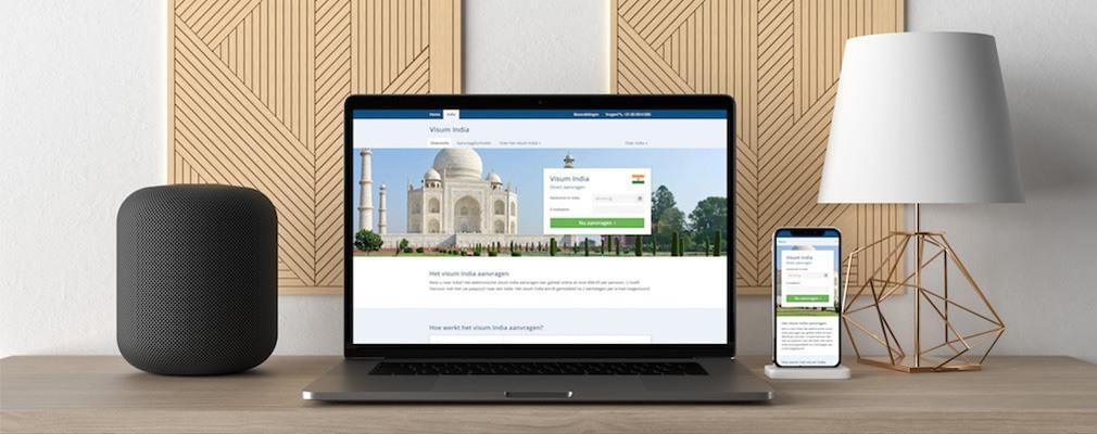 Visum online aanvragen