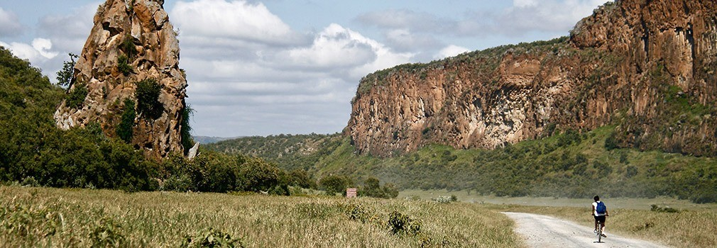 Hells Gate in Kenia