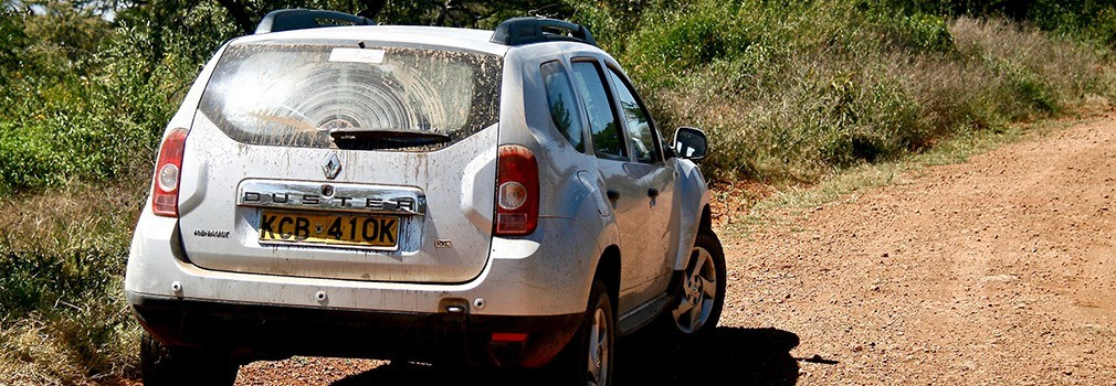 Een auto huren in Kenia