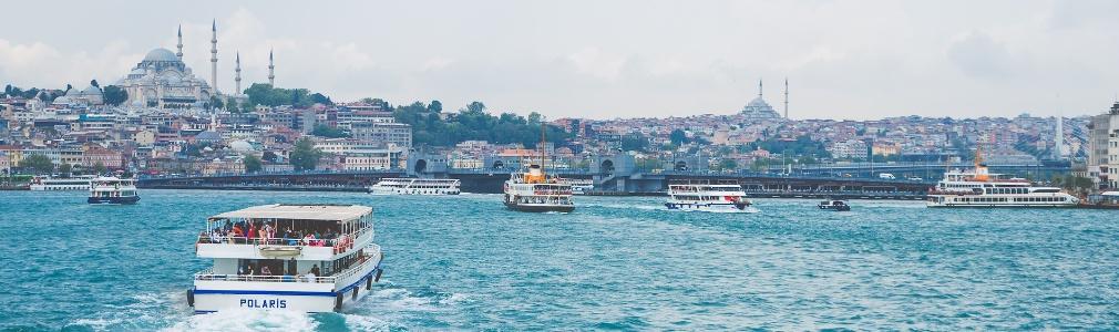 Istanbul vanaf het water